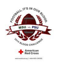 MAD Monday! MSU v PSU BloodDrive!